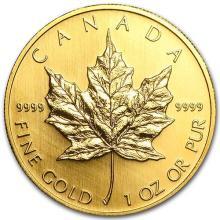 2004 Canada 1 oz Gold Maple Leaf BU #75463v3