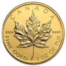 2009 Canada 1 oz Gold Maple Leaf BU #75457v3