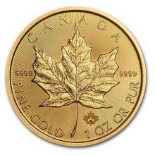 2016 Canada 1 oz Gold Maple Leaf BU #75412v3