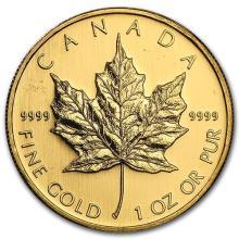 2008 Canada 1 oz Gold Maple Leaf BU #75458v3