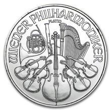 2016 Austria 1 oz Platinum Philharmonic BU #75636v3