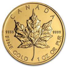 2012 Canada 1 oz Gold Maple Leaf BU #75454v3