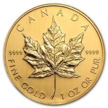 2006 Canada 1 oz Gold Maple Leaf BU #75453v3
