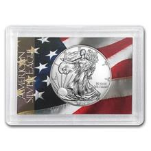2016 1 oz Silver American Eagle BU (Flag Design, Harris Holder) #74962v3