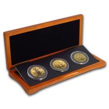 2016 3-Coin 1 oz Gold Sampler Pack for New Investors #75351v3