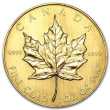 1984 Canada 1 oz Gold Maple Leaf BU #75447v3