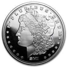 1 oz Silver Round - Morgan Dollar (MintMark SI) #74461v3