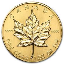 1983 Canada 1 oz Gold Maple Leaf BU #75474v3