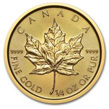 2015 Canada 1/4 oz Gold Maple Leaf BU #75449v3