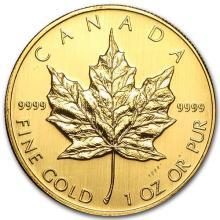 2007 Canada 1 oz Gold Maple Leaf BU #75468v3