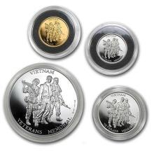 4 Metals Set - Vietnam Veterans Memorial Set (In Capsule) #75244v3