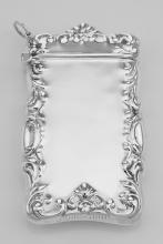 Antique Border Design Matchsafe Holder Case Engraveable Sterling Silver 925 #PAPPS97901