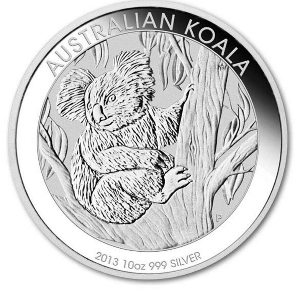 Australian Koala Ten Ounce Silver 2013 #PAPPS84519