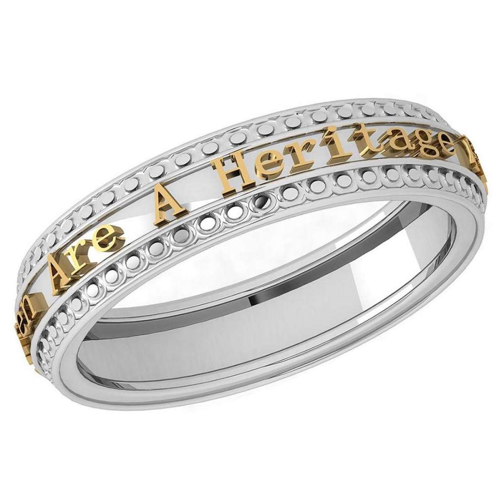 Gold MADE IN ITALY Heritage Styles Bands For beautiful ladies 14k Rose Gold MADE IN ITALY #PAPPS20282
