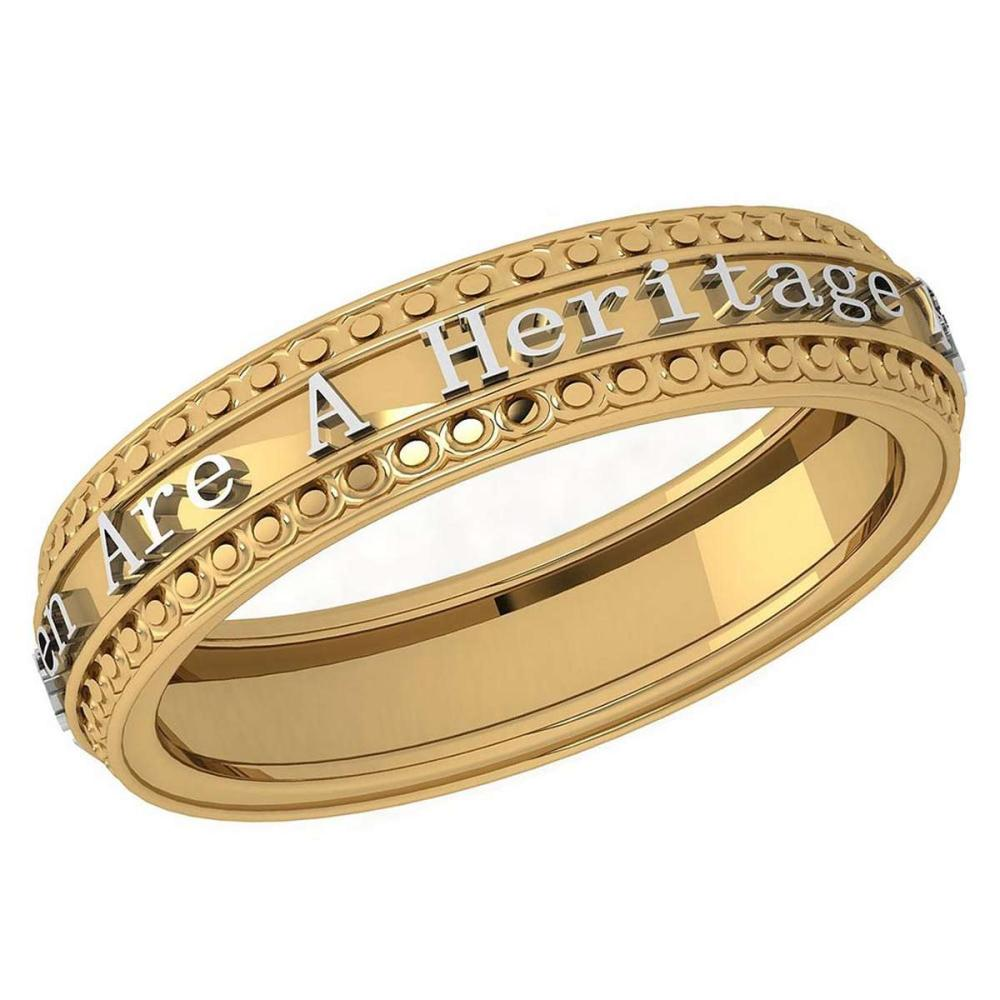 Gold MADE IN ITALY Heritage Styles Bands For beautiful ladies 14k Yellow Gold MADE IN ITALY #PAPPS20281