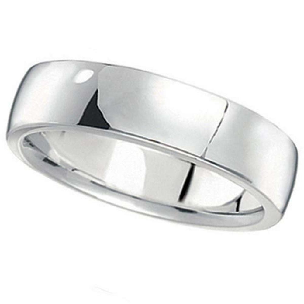 Palladium Wedding Ring Low Dome Comfort Fit (5 mm) #PAPPS20669