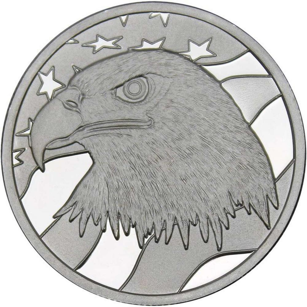 Pledge Of Allegiance .999 Silver 1 oz Round #PAPPS84485