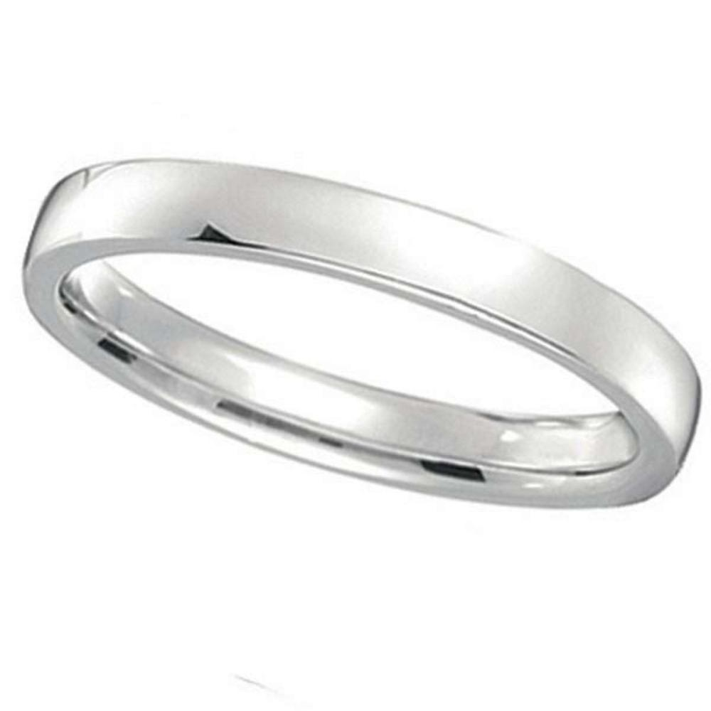 Palladium Wedding Ring Low Dome Comfort Fit (2mm) #PAPPS20870