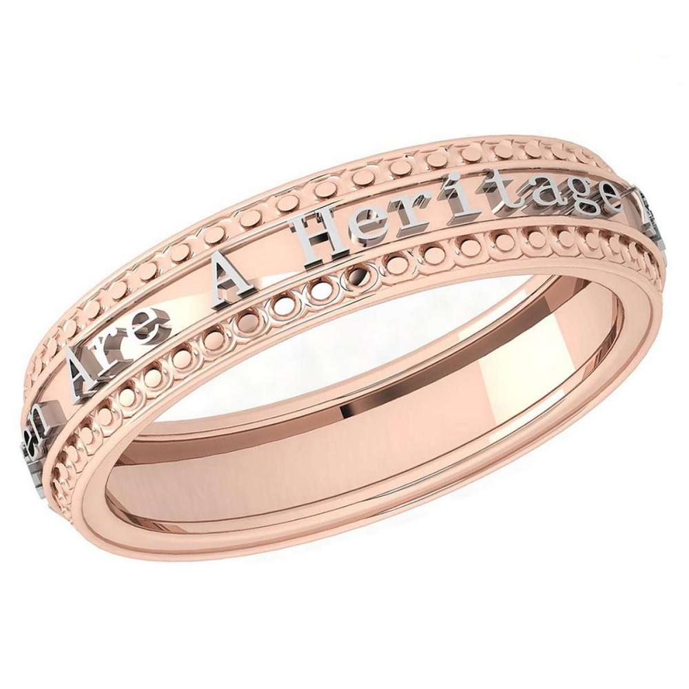 Gold MADE IN ITALY Heritage Styles Bands For beautiful ladies 14k White Gold MADE IN ITALY #PAPPS20283
