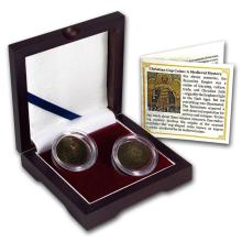 Christian 2-Cup Coin Collection: A Medieval Mystery #PAPPS53642