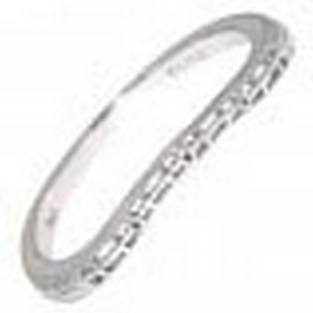 Matching Band for FR-1834 14kt White Gold Filigree Ring #PAPPS11409