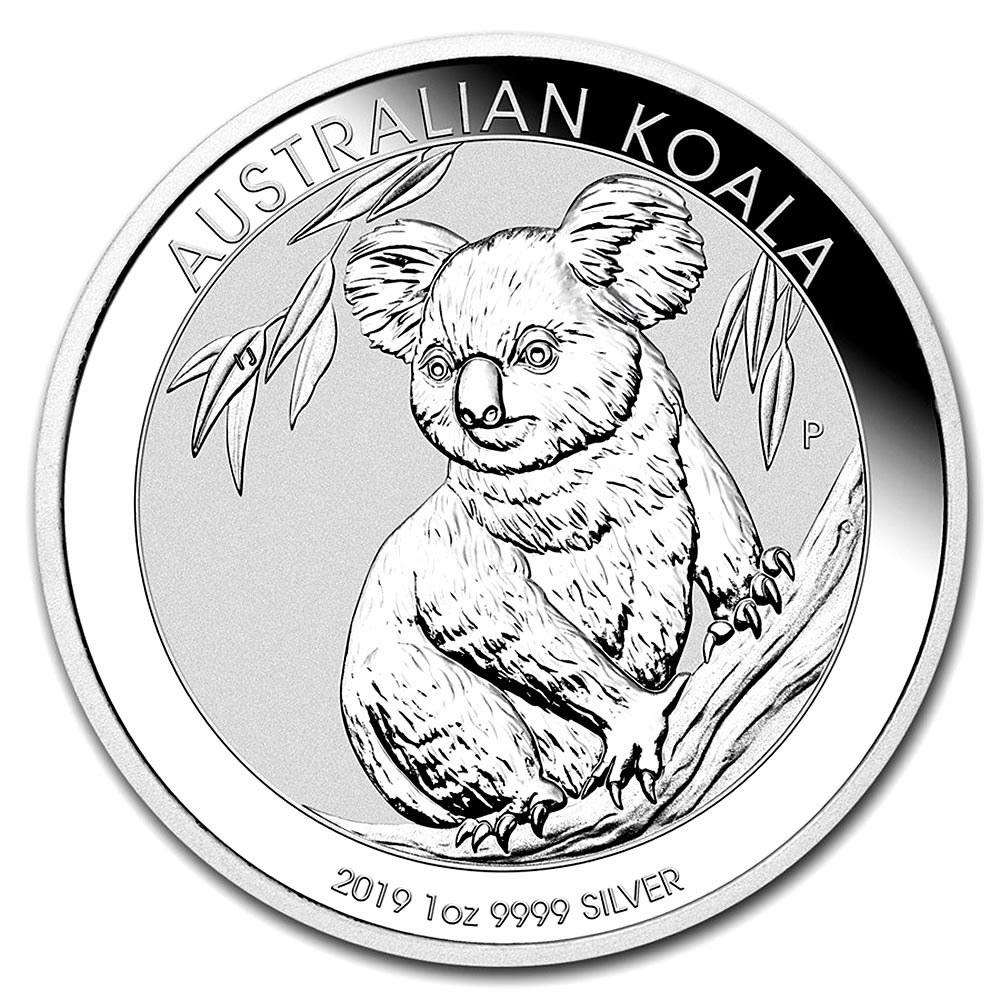 Australian Koala 1 Ounce Silver 2019 #PAPPS84477