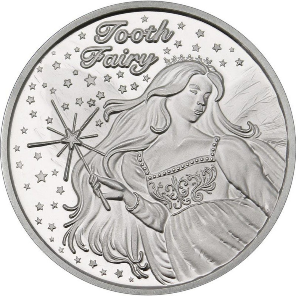 Tooth Fairy .999 Silver 1 oz Round #PAPPS84524