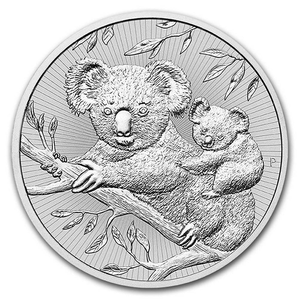 Australian Koala 2 Ounce Silver 2018 #PAPPS84520
