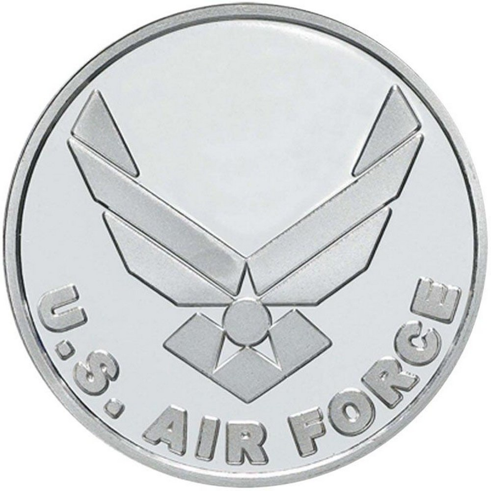 US Air Force .999 Silver 1 oz Round #PAPPS84499