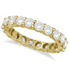 Diamond Eternity Ring Wedding Band 18k Yellow Gold (3.00ct) #20736v3