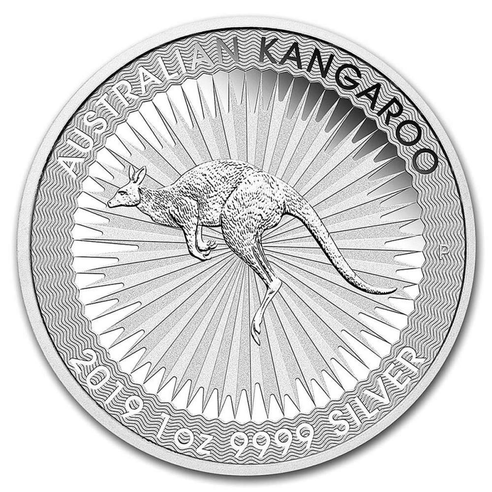 2019 Australia 1 oz Silver Kangaroo BU #PAPPS84537