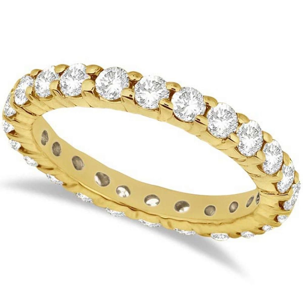 Diamond Eternity Ring Wedding Band in 14k Yellow Gold (2.00ct) #PAPPS20835