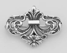 Watch Pin or Charm Hanger Pin - Sterling Silver #PAPPS97908