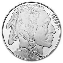 1 oz Silver Round - Buffalo #74455v3