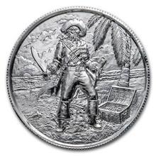 2 oz Silver Round - The Captain #74518v3