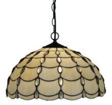 TIFFANY STYLE CASCADE PENDANT LAMP, 16-INCH #10193v3