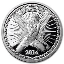 1 oz Silver Proof Round - Reddit Silverbug Alyx The Fairy #74496v3