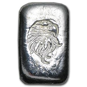 1 oz Silver Bar - Atlantis Mint (Eagle Head) #PAPPS74787