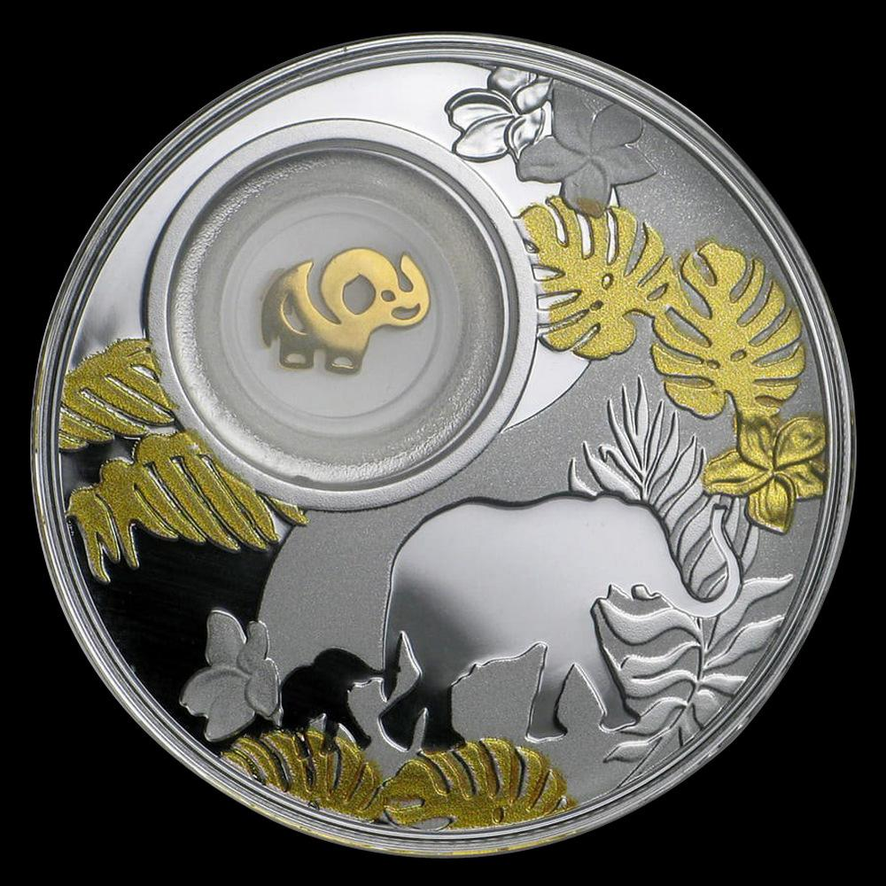 2020 Republic of Cameroon Silver Proof Lucky Elephant C