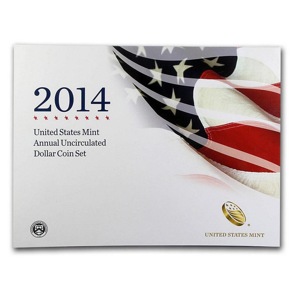 2014 U.S. Mint Annual Uncirculated Dollar Set