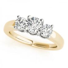 CERTIFIED 18KT TWO TONE GOLD 2.25 CT G-H/VS-SI1 DIAMOND BRIDAL SET #PAPPS86786