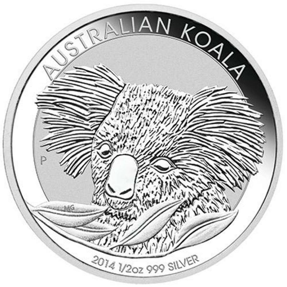 2014 Australian Silver Koala Half Ounce #PAPPS84431
