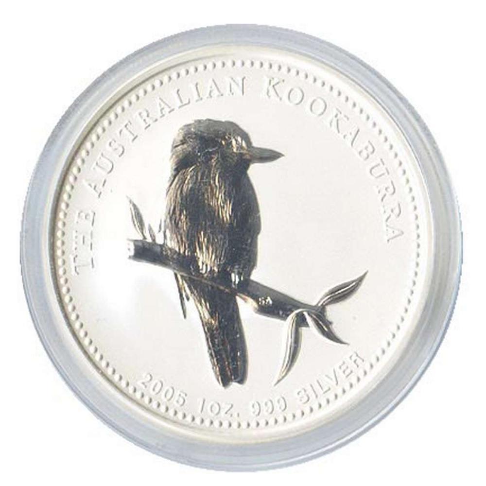 Australian Kookaburra 1 oz. Silver 2005 #PAPPS84428