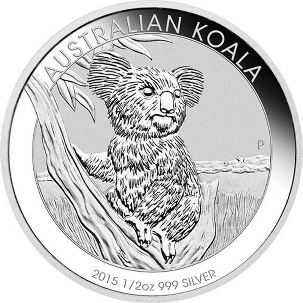 2015 Australian Silver Koala Half Ounce #PAPPS84358