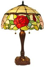 TIFFANY STYLE FLORAL TABLE LAMP 24 IN #99516v2