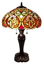 TIFFANY STYLE VICTORIAN TABLE LAMP 24 INCHES #99496v2