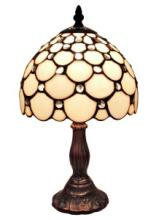 TIFFANY STYLE TABLE LAMP 8 IN WIDE #99491v2