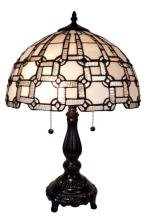 TIFFANY STYLE TABLE LAMPS 20 INCHES HIGH #99487v2
