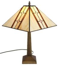 TIFFANY STYLE MISSION TABLE LAMP #99535v2