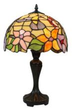 TIFFANY STYLE HUMMINGBIRD DESIGN 19-INCH TABLE LAMP #99523v2